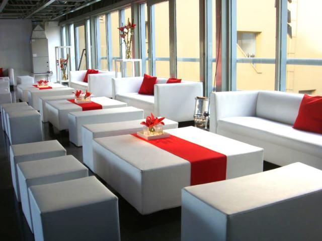 Sillones para fiestas livings para fiestas for Alquiler muebles para eventos