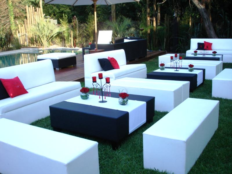 alquiler de sillas para bodas sillones y livings para fiestas